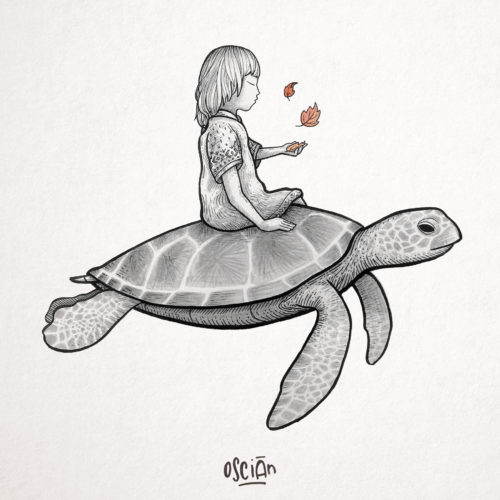 zoe et la tortue - the oscian